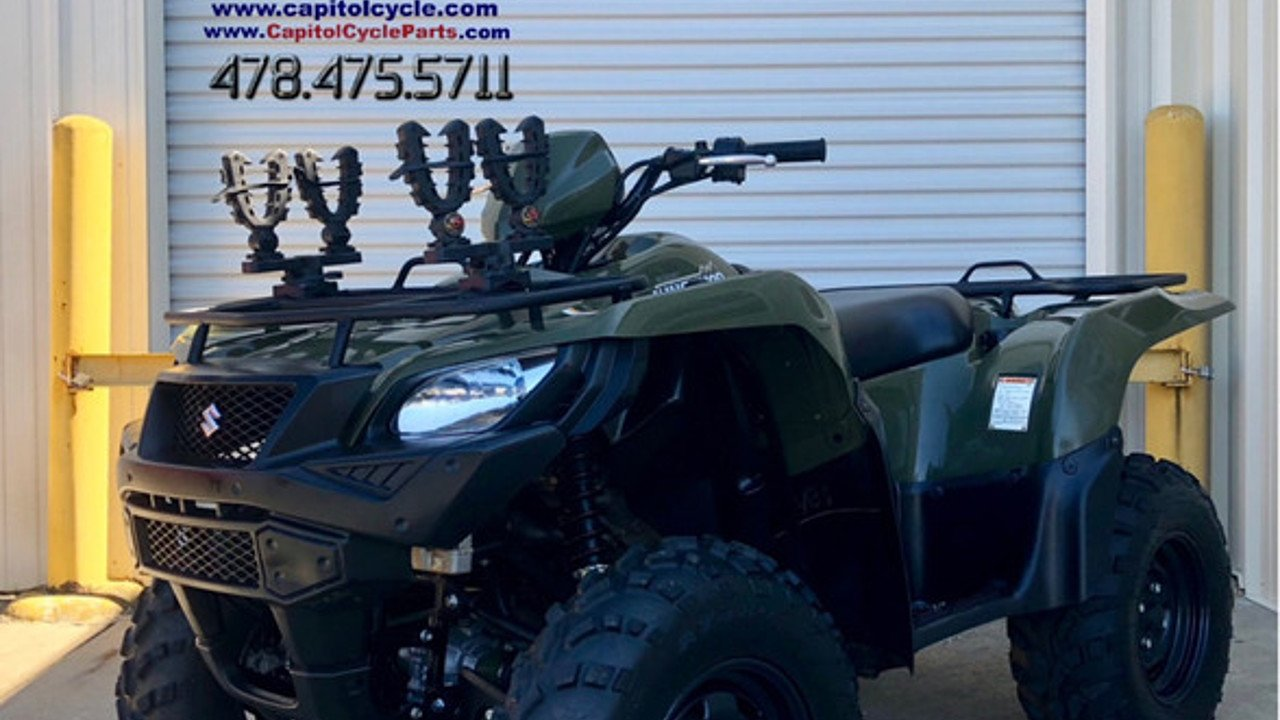 2016 Suzuki KingQuad 750 for sale 200563231